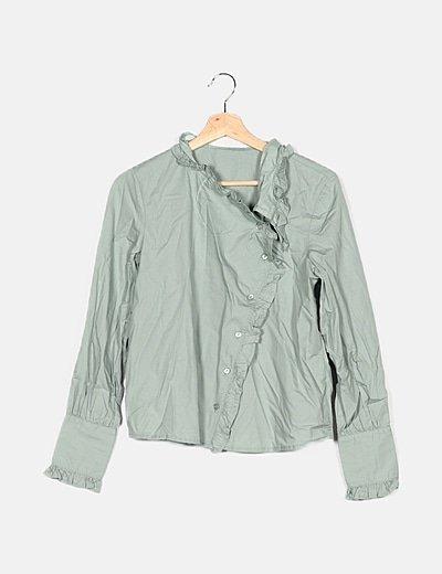 Camisa verde mint