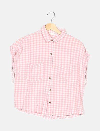 Camisa bicolor cuadros