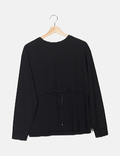 Jersey negro tricot