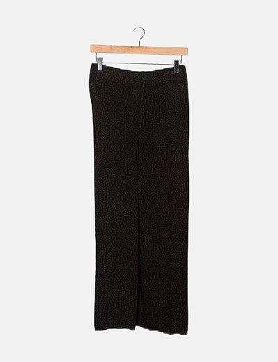 Pantalón bicolor jaspeado
