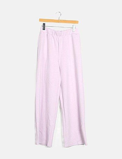 Pantalón lila de chándal