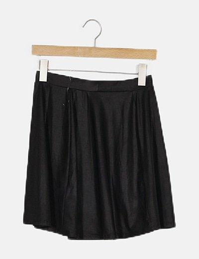 Falda negra de lycra