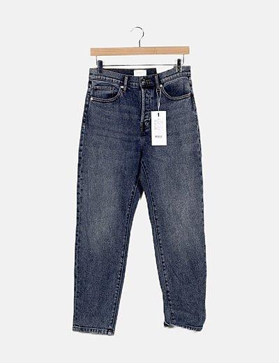 Jeans jaspeado