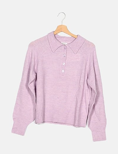 Jersey tricot lavanda