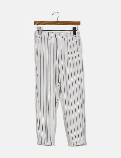 Bershka Pantalon Bicolor Rayas Descuento 82 Micolet