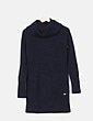 Vestido tricot negro con cuello alto Tommy Hilfiger