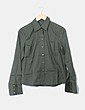 Camisa verde manga larga Caramelo