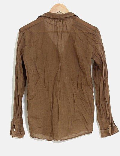 Zara Camisa arrugada (descuento 75 %) - Micolet