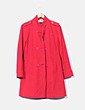 Abrigo rojo texturizado   Tommy Hilfiger