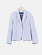 Blazer  blanco y azul marino Tommy Hilfiger