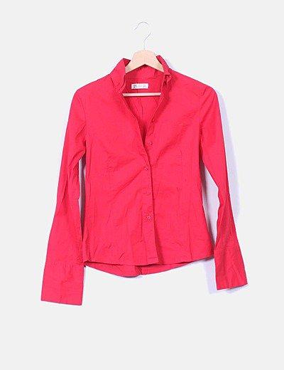 Camisa roja manga larga