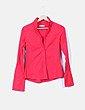 Camisa roja manga larga Pull&Bear