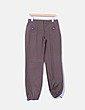 Pantalón baggy color marrón  Kiabi