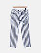 Pantalón blanco de rayas azules  Pepe Jeans