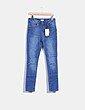 Jeans pitillo tiro alto Green Coast