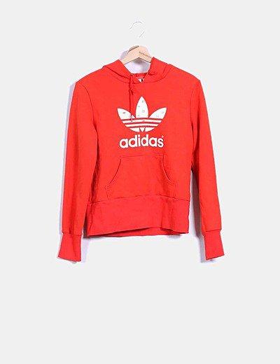 Criatura filete por otra parte,  Adidas Sudadera Adidas roja (descuento 54 %) - Micolet