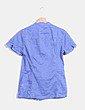 Camisa malva entallada Zara