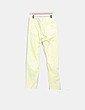Pantalón recto amarillo Springfield