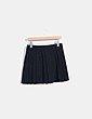 Mini falda negra plisada Zara