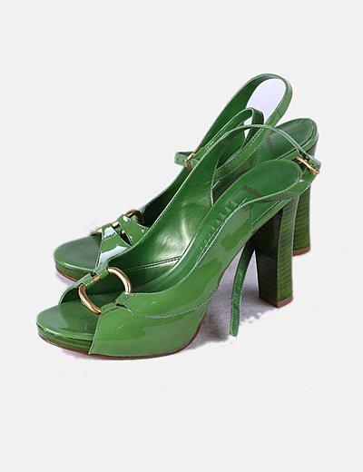 Sandálias de tacão Bronx