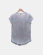 Camiseta gris print DESIRES