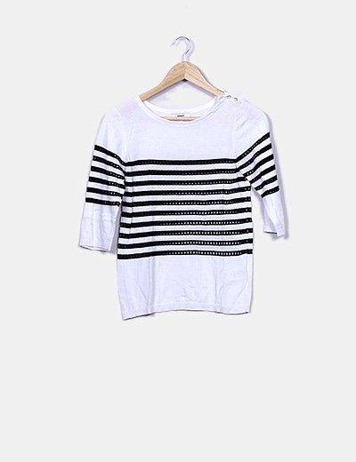 Suéter tricot blanco ryas