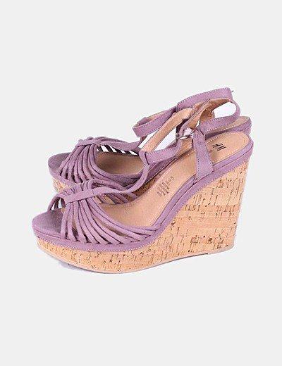 Sapatos com plataforma H&M