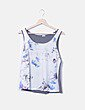 Camiseta combinada floral Pimkie