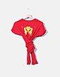 Top rojo cruzado NoName