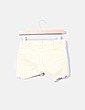Shorts denim amarillo desflecado Vertigo