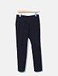 Pantalón chino negro Cortefiel