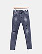 Jeans gris ripped Ag Jeans