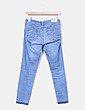 Pantalón denim pitillo desflecado Ag Jeans