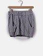 Mini falda gris deportiva con cremallera Adidas