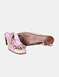 Zapato de tacón beige destalonado Giko Shoes