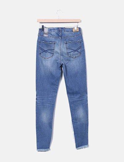 Aeropostale Jeans Denim Skinny Desflecado Descuento 57 Micolet