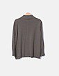 Conjunto tricot khaki estampado Marly's