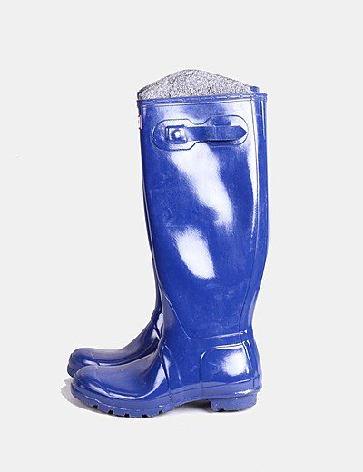 Bota de agua azul intenso