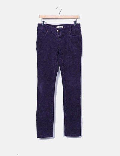 Pantalon coupe droite Denim Co.