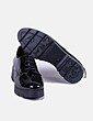 Zapato acharolado negro Wonders