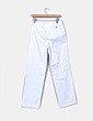 Pantalón recto blanco Tommy Hilfiger