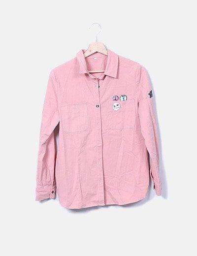 Sobrecamisa rosa