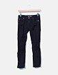 Jeans denim negro ripped Pull&Bear