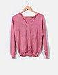 Jersey rosa con brillos Bimba&Lola