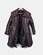 Abrigo largo acolchado cobre DKNY