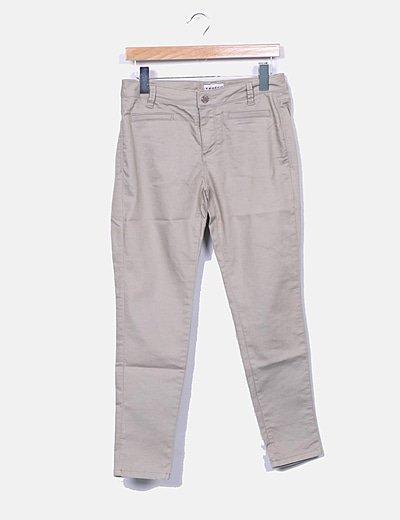 Jeans denim beige