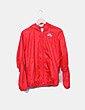 Chubasquero con capucha rojo Nike