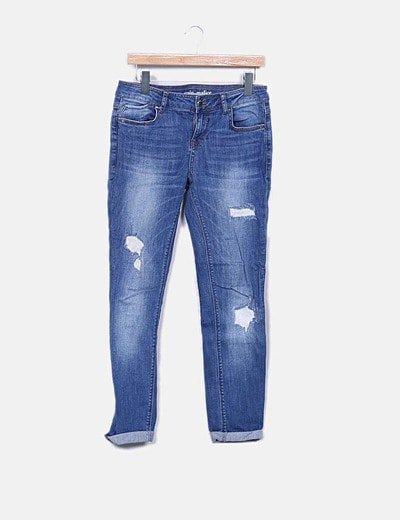Pantalons slim Grain de Malice